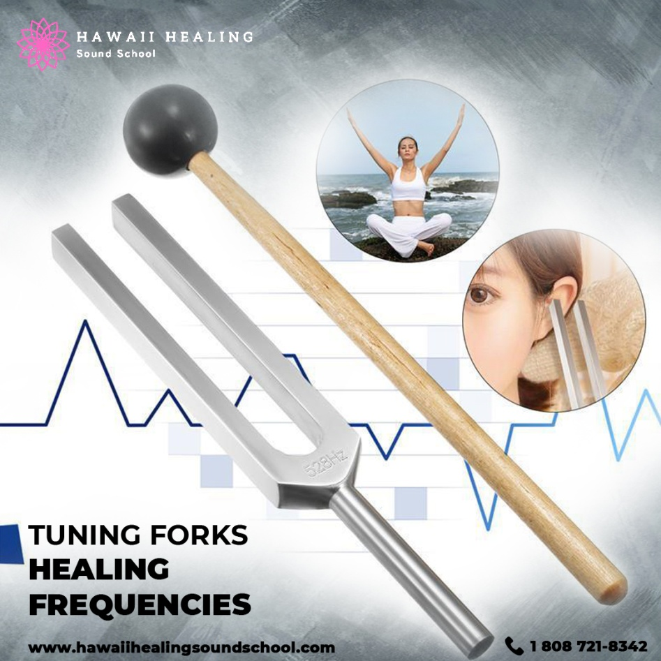 Revive your body and mind only with tuning forks healing frequencies